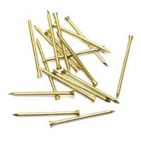 "Solid Brass Panel Pin 1"" (25mm) - Pack of 210 (75g)"